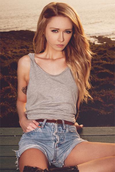 Gemma Evans Model Llanelli Wales United Kingdom