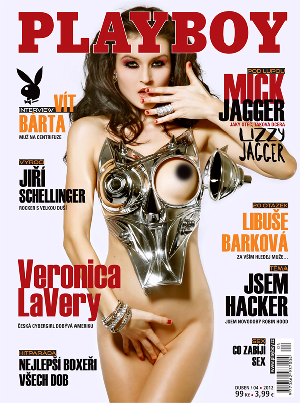 Mar 05, 2012 Playboy CZ Cover of Playboy Czech Republic (on stands March 20th12) with a Talent feature- 5 page spread