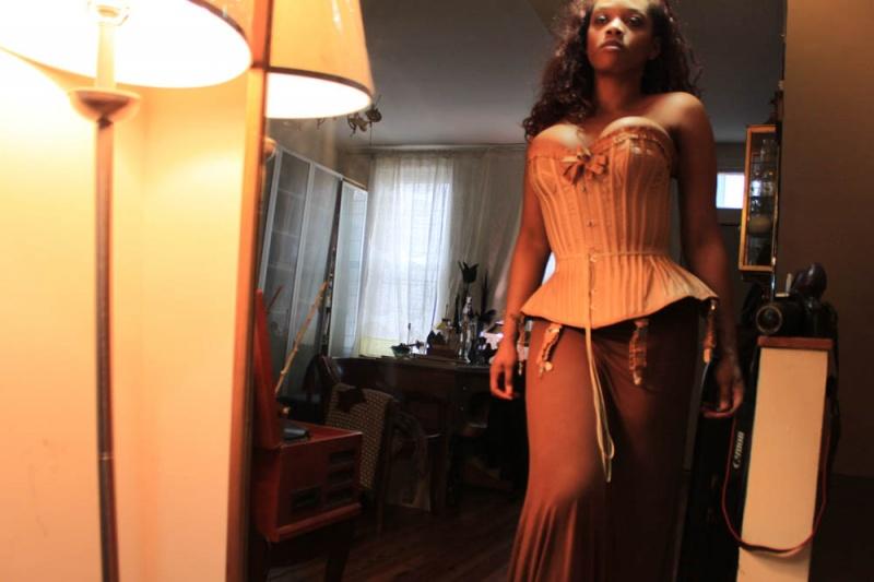 Female model photo shoot of Von Livid in Chicago