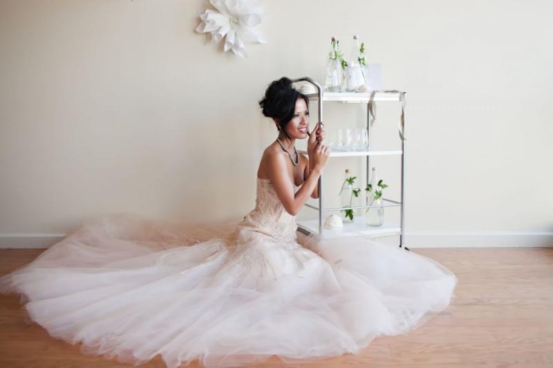 Female model photo shoot of MissHan by Nicole Chan