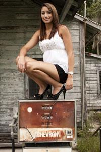 Female model photo shoot of Tyler Bicknell  in Lake City, FL