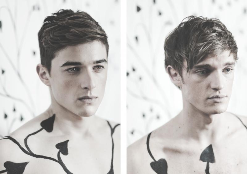 Male model photo shoot of Scott Mains and Richard Pearson