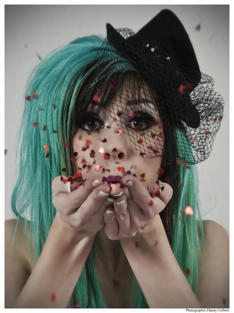 Dieselpunk Studios Mar 10, 2012 Danny Gilbert Valentine kisses