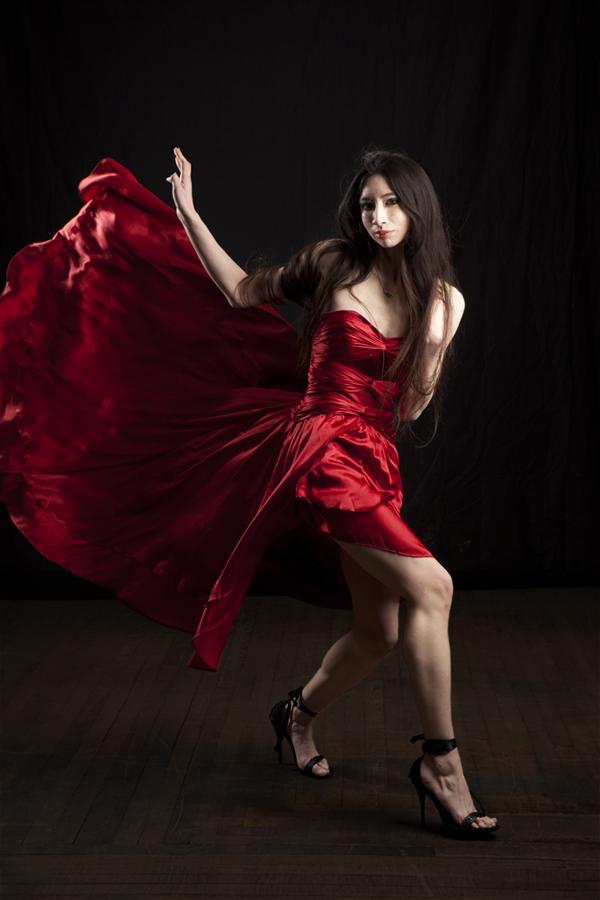 Female model photo shoot of Khimaira by LKW Photography