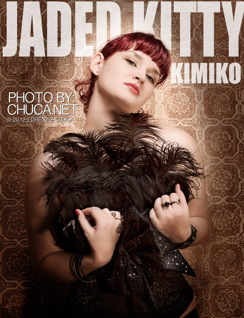 Female model photo shoot of Jaded Kitty Kimiko by AChuca in Chuca's Place