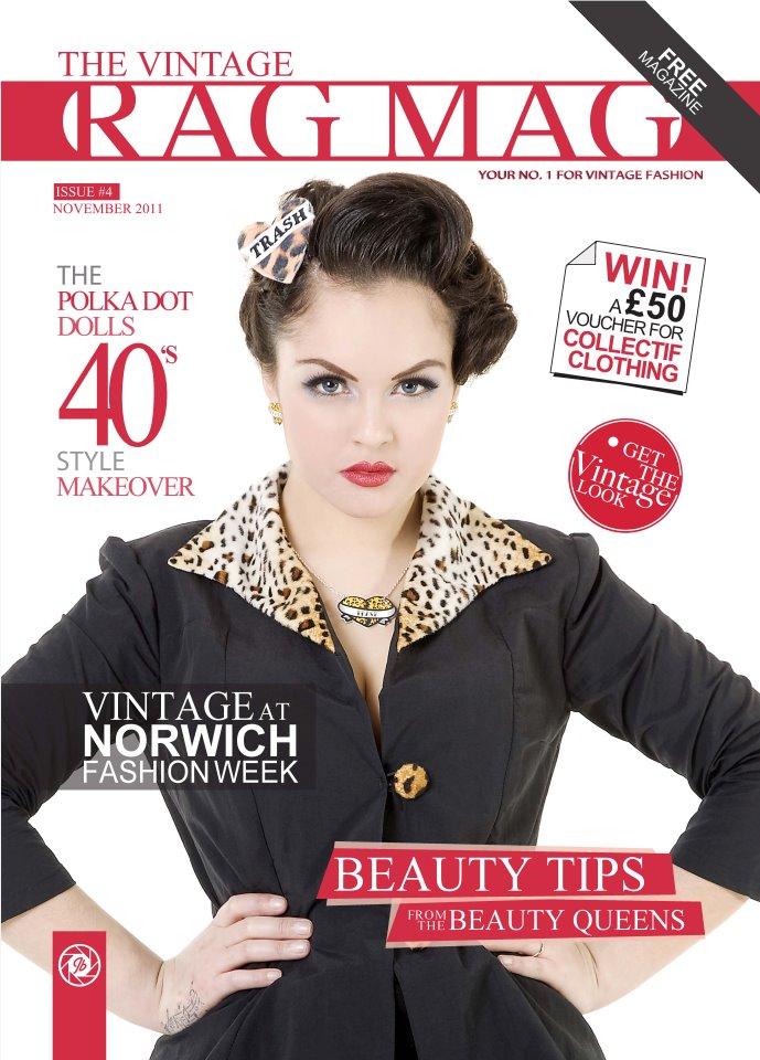 Mar 15, 2012 Jonathan Bolland Vintage Rag Mag Cover November 2011