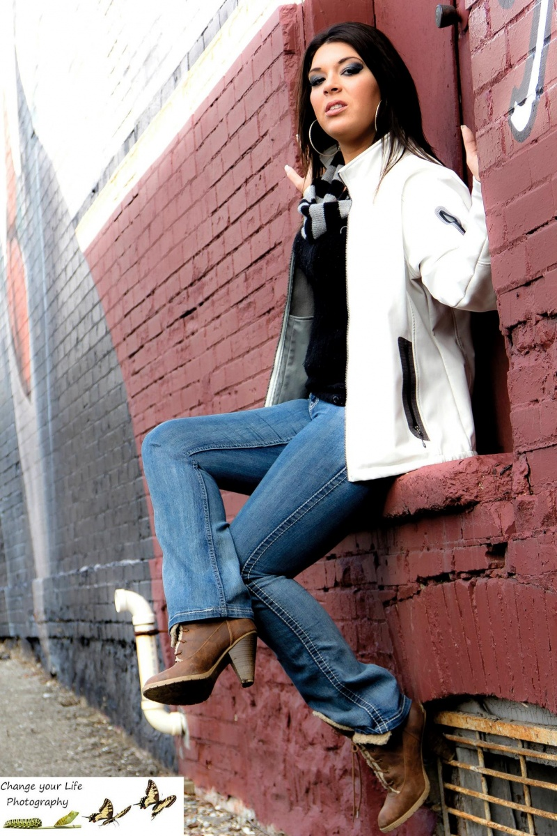 Female model photo shoot of Veronique Larocque by CYL Photography in Georgetown, Ontario