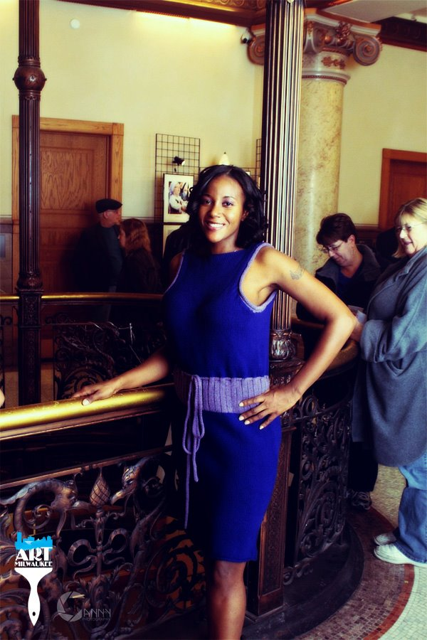 City Hall, Milwaukee (Art Jamboree March 9, 2012) Mar 17, 2012 2012 photo by Jonathan Canny modeling by  Tanya Turner