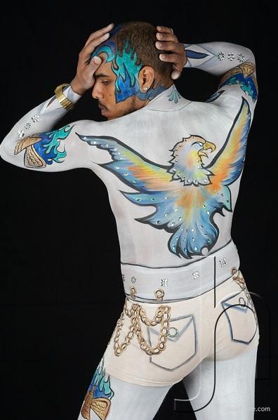 Mar 17, 2012 jasonharren.com ROGER K. @ THE 2012 FACE PAINTING & BODY ART CONVENTION - LAS VEGAS