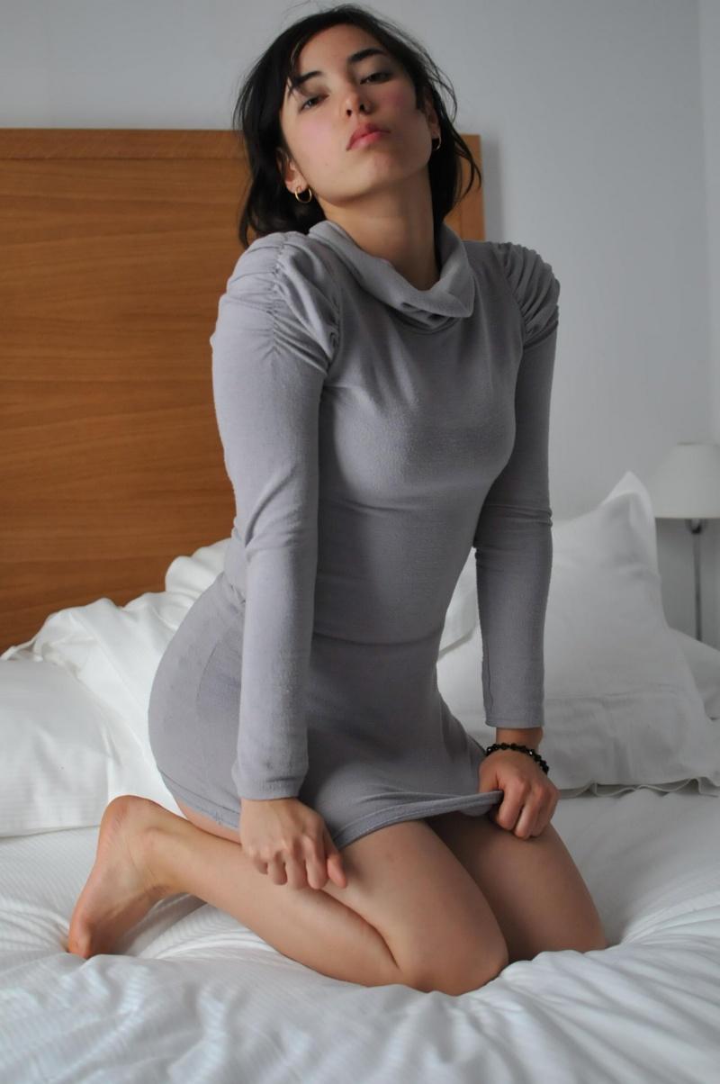 Female model photo shoot of Nico K in Paris