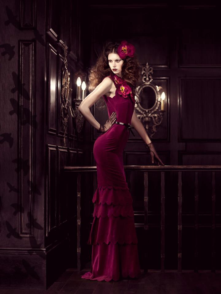 Mar 19, 2012 Gregory Michael King Dress: Veroni Deco, Hair Sofia Sjoo, MUA: Gosia Peruzynska & Model: Rosie @ First,