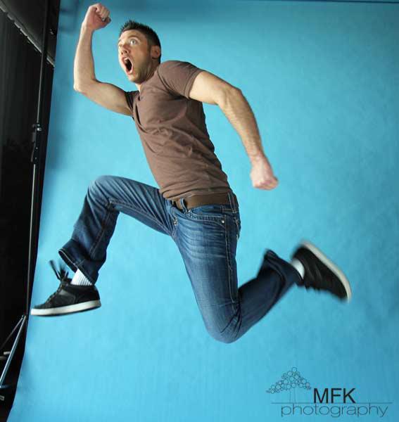 Male model photo shoot of Miklo Schoenrock