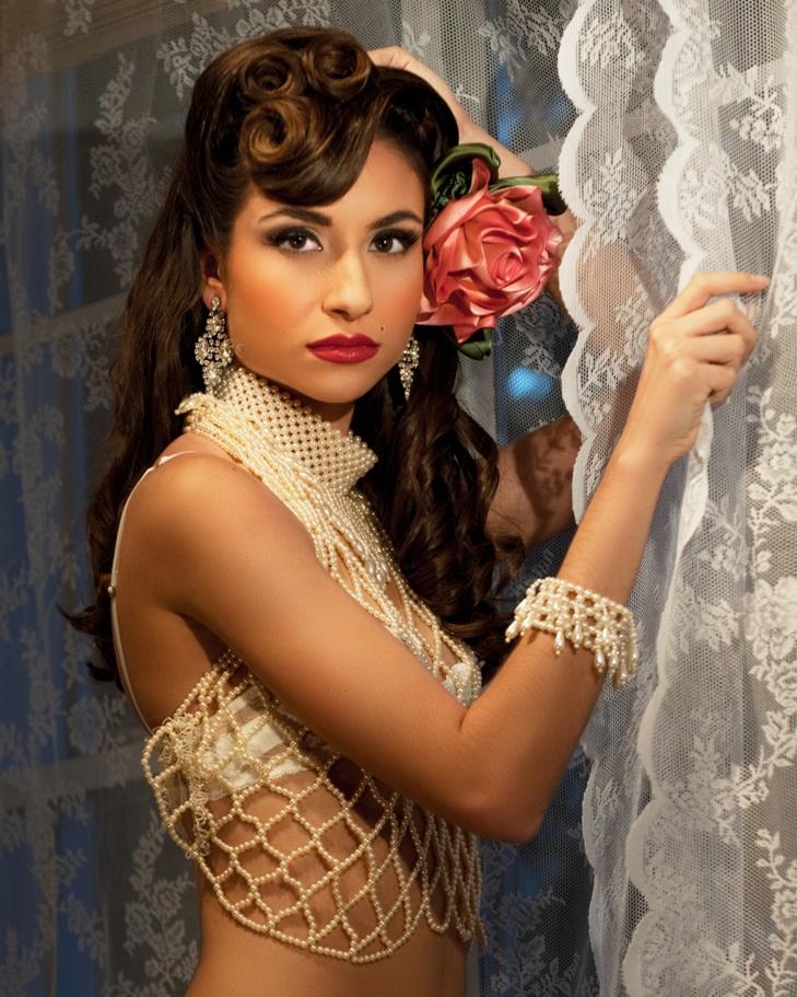 Female model photo shoot of Lynn Telzer by Sugar and Spice Boudoir