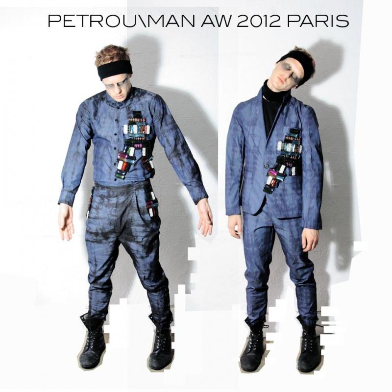 NYC Mar 22, 2012 Nicolas Petrou PETROU/MAN AW12