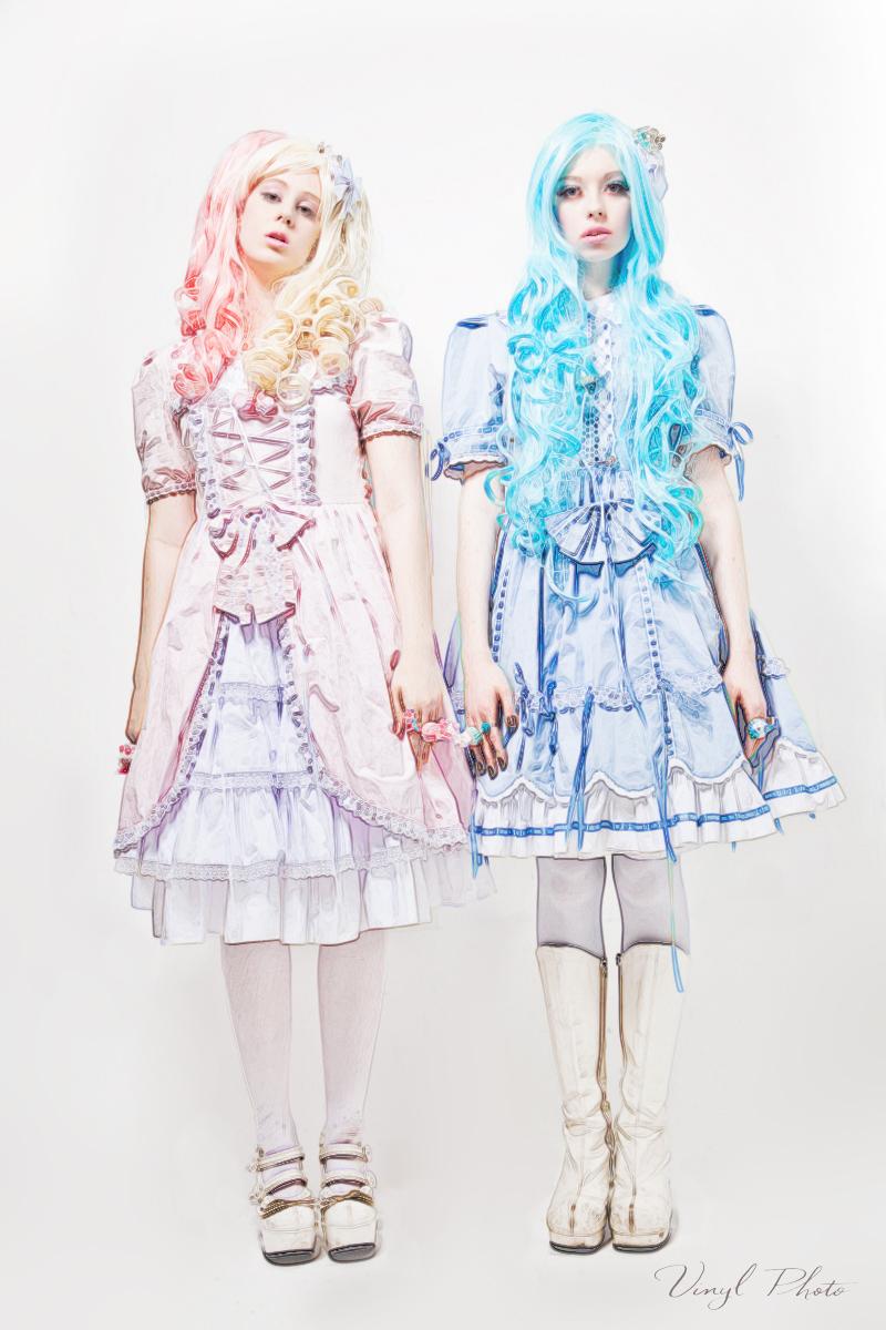 Chicago, IL Mar 24, 2012 Vinyl Photo Bubble Gum Princesses