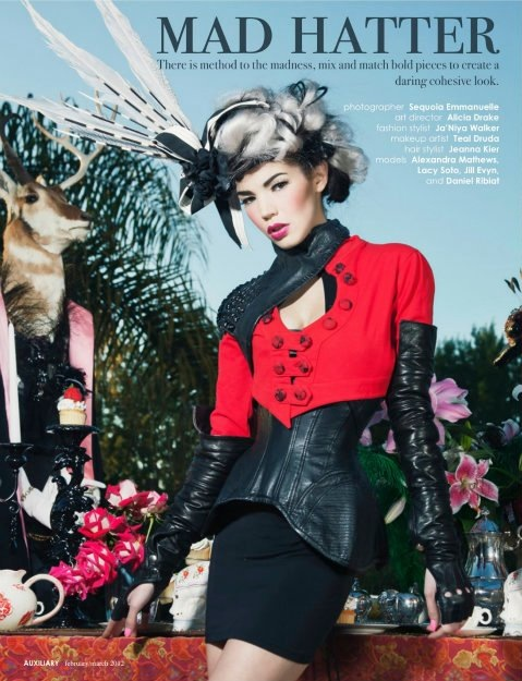 Mar 26, 2012 Sequoia Emmanuelle Auxilary Magazine Feb/March Issue