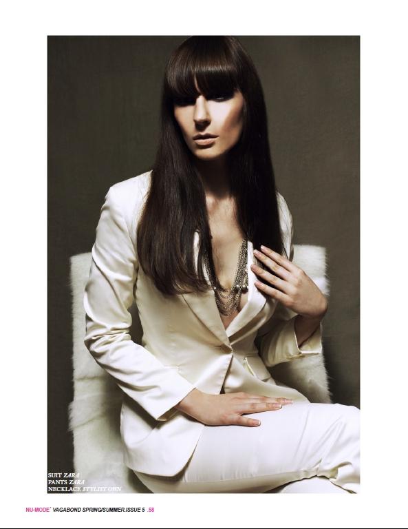 Mar 27, 2012 Clarens Tyson - MUA : Megan Bedynski Nu-Mode Magazine Issue 5