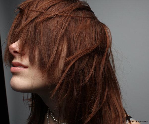 Female model photo shoot of Karen Marie KMA in OCC Studio