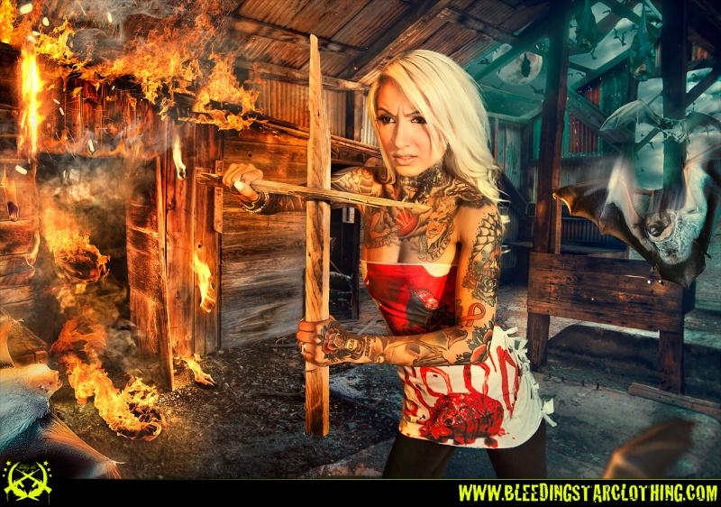 Male model photo shoot of Devin Taylor, wardrobe styled by Bleeding Star