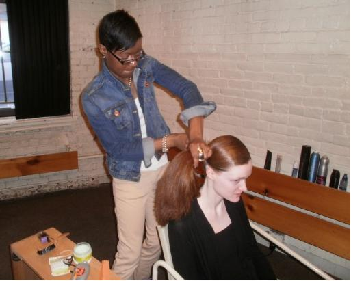 Female model photo shoot of Kyra Hunter in South Boston, MA