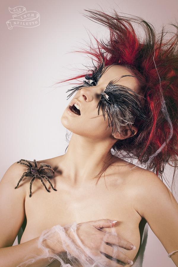 Brussels, Belgium Mar 28, 2012 Six Inch Stiletto 2012; hair & makeup artist: Saima Rachid Bargfrede