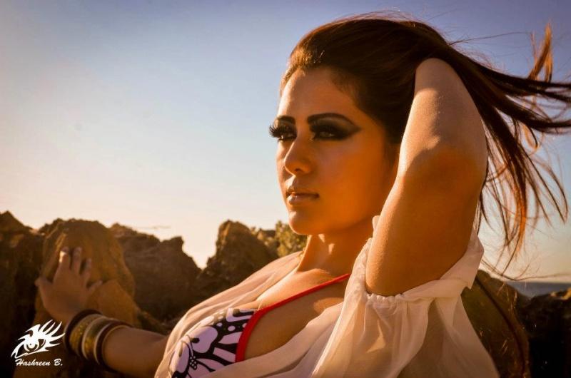 Female model photo shoot of Hashreen B Photography