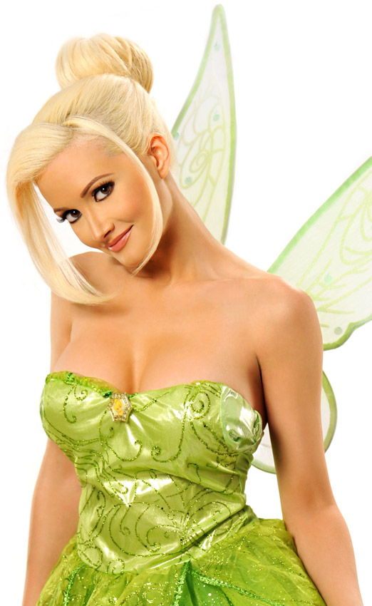 Mar 28, 2012 Holly Madison as Tinkerbell