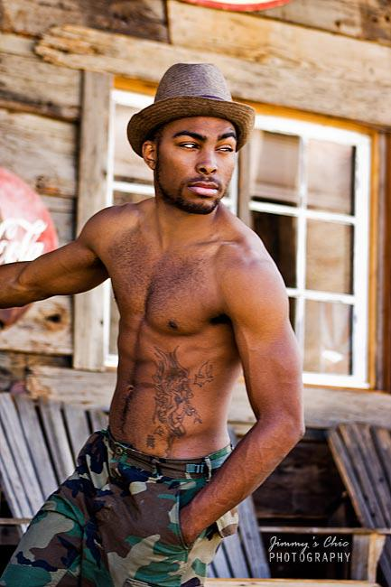 Male model photo shoot of Dionni James