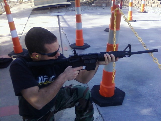 SAN JOSE Mar 29, 2012 TRAINING WITH MY .223