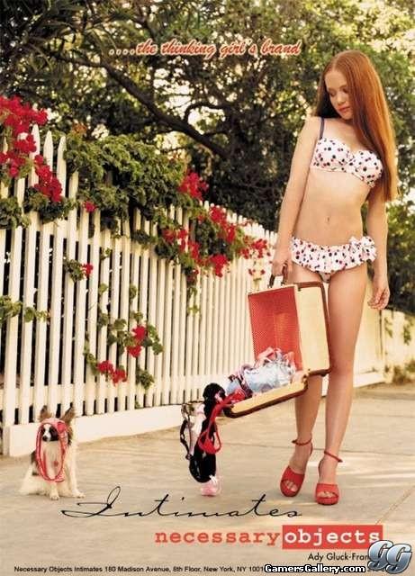 Mar 30, 2012 Playmate Heather Carolin Lingerie Ad
