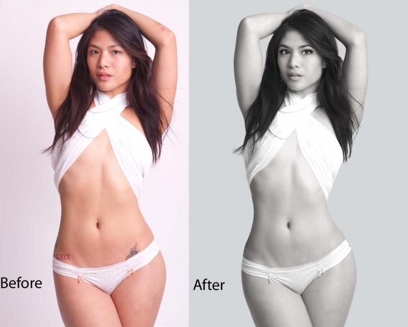 Female model photo shoot of VIXEN RETOUCHING