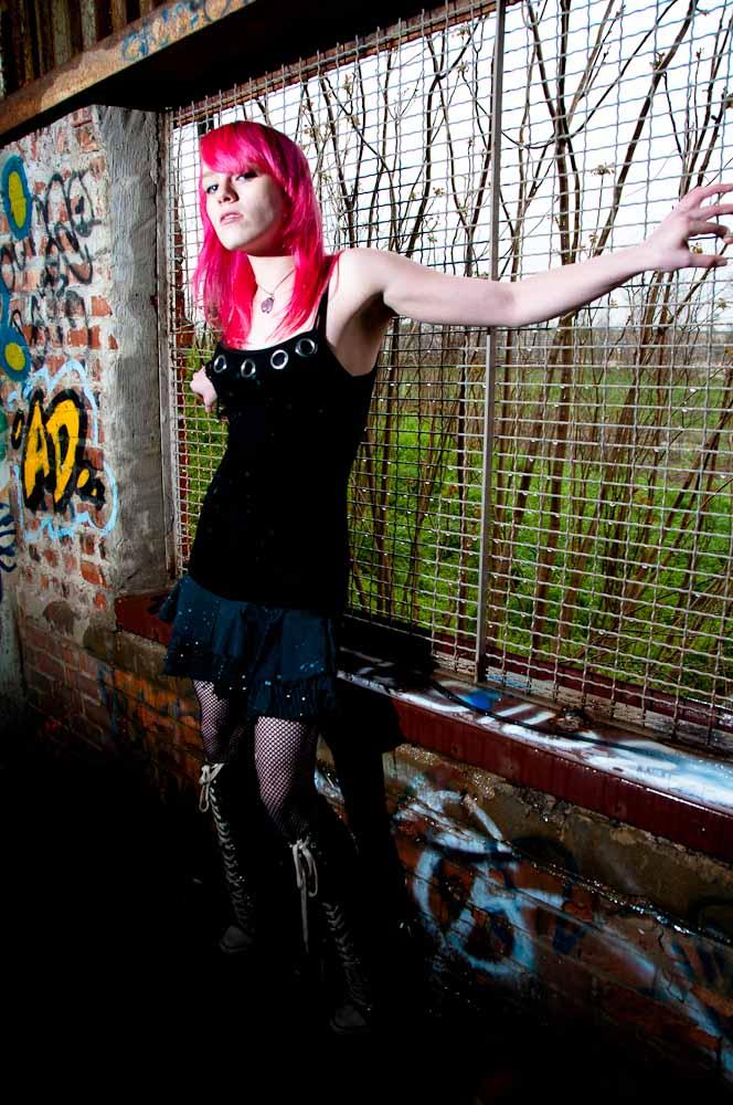 Female model photo shoot of  Nymphetamine by Hammock Photo
