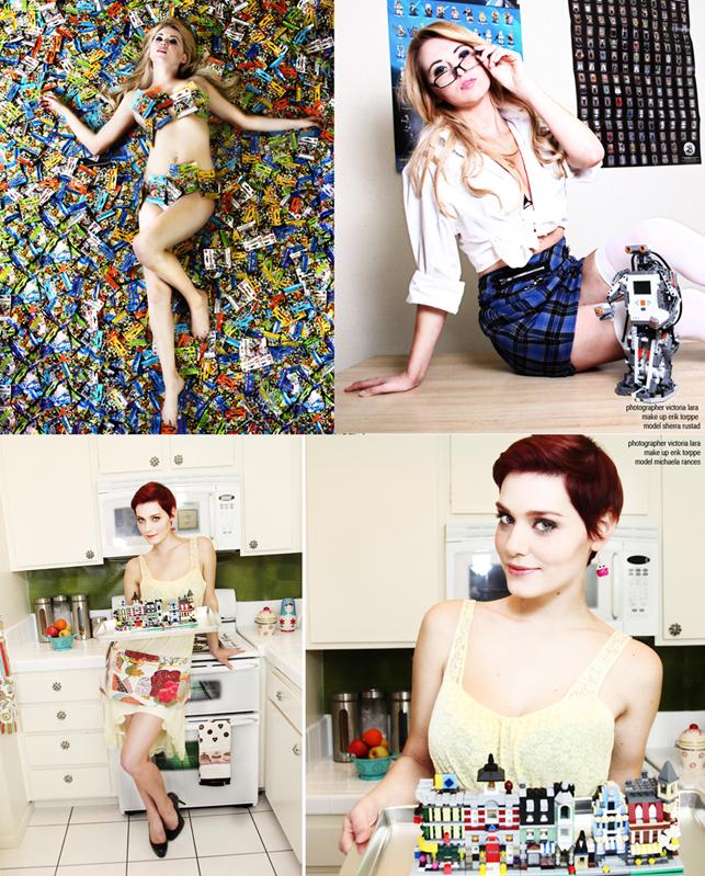 Female model photo shoot of Victoria Lara - Goretsky, Sherra Michelle and Michaela Moon in Los Angeles
