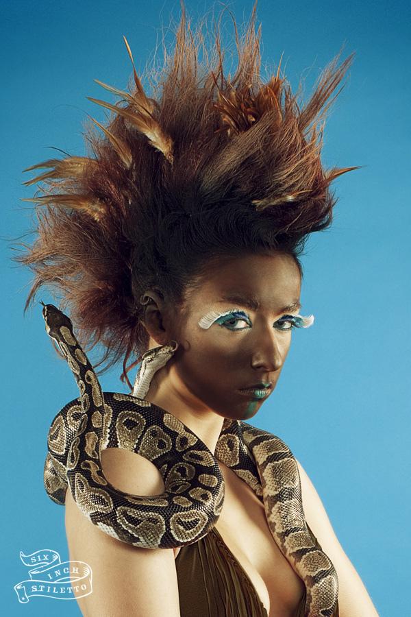 Female model photo shoot of SAIMA  RASHID BARGFREDE