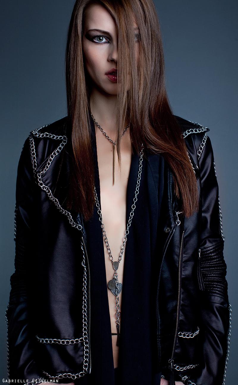 Female model photo shoot of Gabrielle Geiselman  in Los Angeles, Ca MUA: Cazzie Mayorga Model: Femke of LA Models