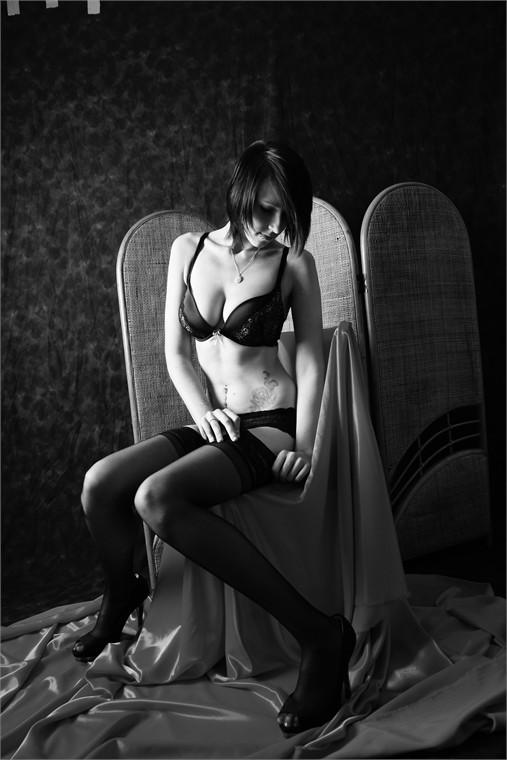 Female model photo shoot of Angelfranklin in Studio