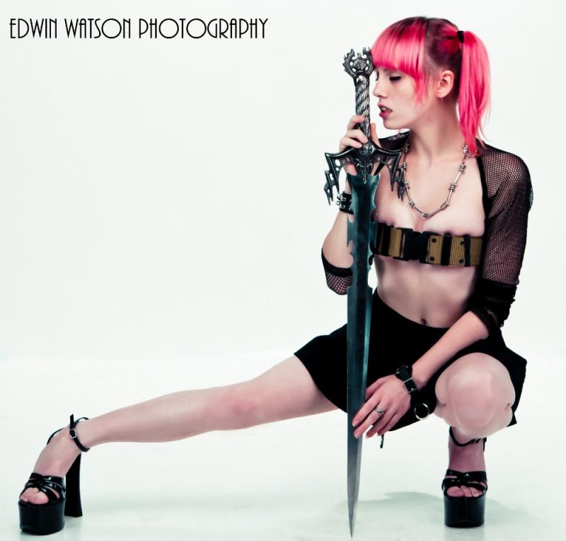 Female model photo shoot of  Nymphetamine by Edwin Watson