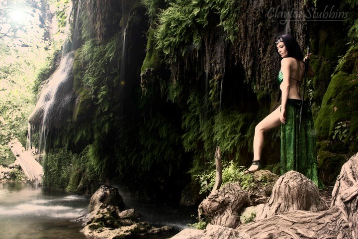 Female model photo shoot of Morgana Fate by Shutter Shock in Krause Springs