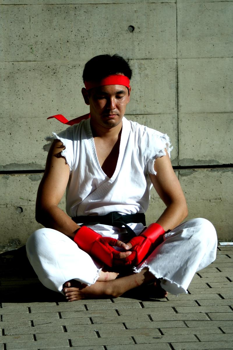Tokyo game Show 2011 Apr 11, 2012 ©Capcom Entertainment, Inc. Ryu cosplay