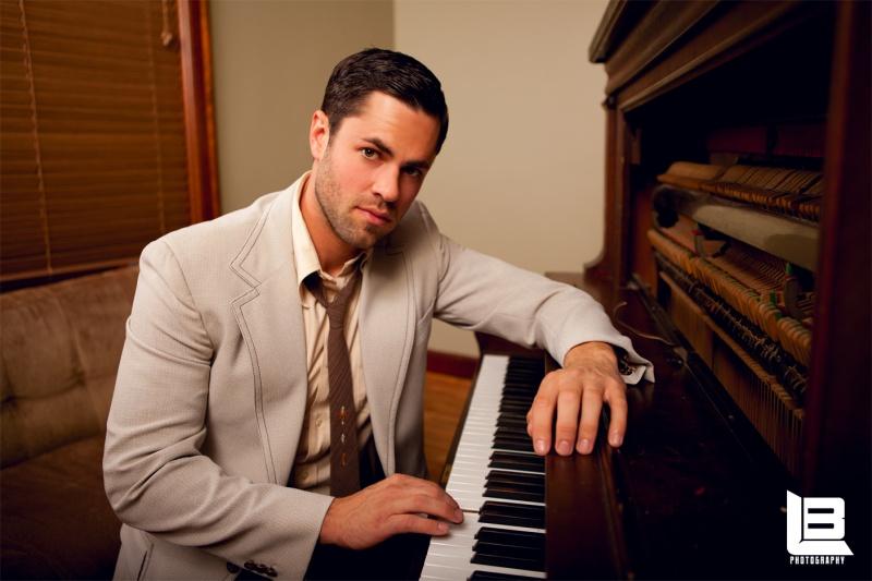 Male model photo shoot of Aaron Minegar by L B Custom Portraits