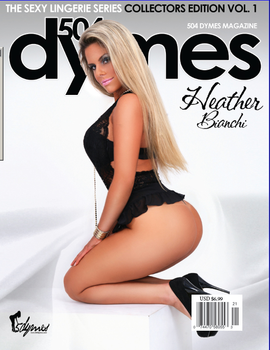 Baton Rouge, Louisiana Apr 11, 2012 504Dymes Magazine/C.E. Wiley Studios COVER MODEL - HEATHER BIANCHI - PICK UP YOUR COPY OF 504DYMES MAGAZINE