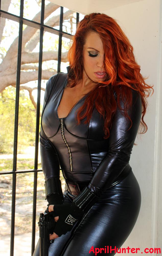 Hair, makeup, retouching: April Hunter Apr 12, 2012 Black Widow-Avengers Photo: Bob Pomeroy