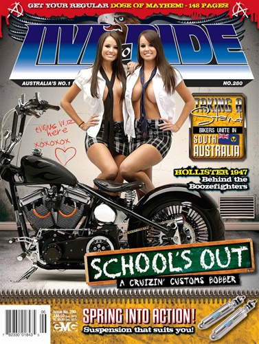 Apr 12, 2012 FRONT COVER of Live to Ride Magazine