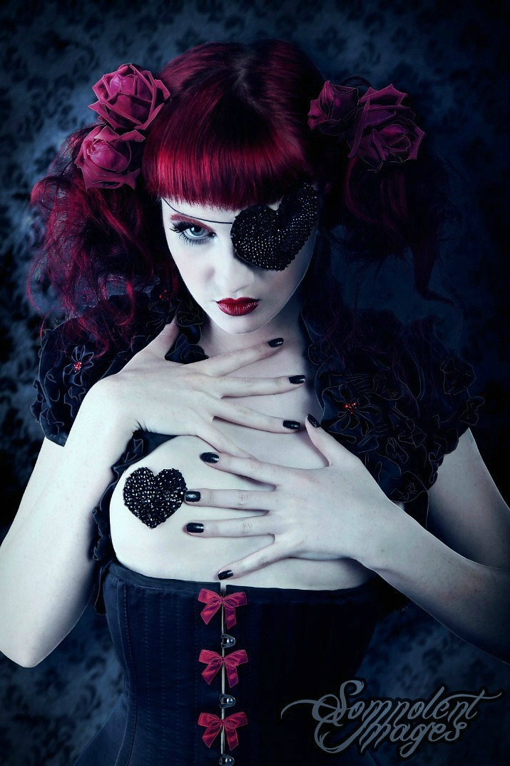 Apr 13, 2012 Somnolent Images Velvet Girl Make-up, Hair, outfit, pasties/ eye patch by myself.