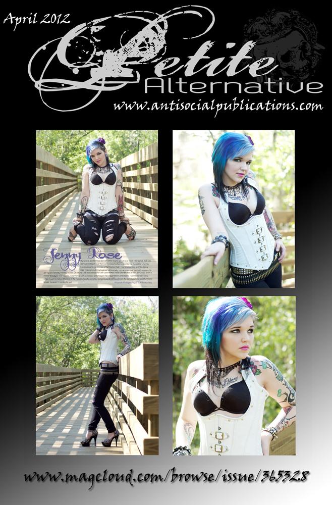 Tampa, FL Apr 15, 2012 Krizanek Photography 2012 / SLK Retouching  Published- April 2012 - Petite Alternative Magazine
