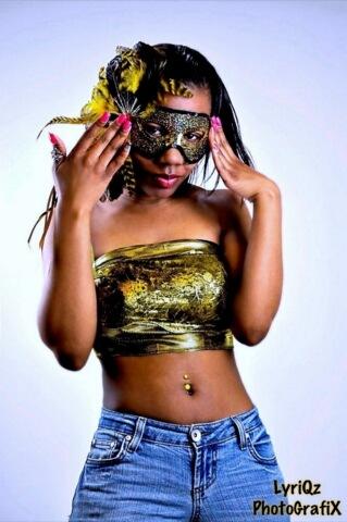 Female model photo shoot of SHONTE P by LyRiQz