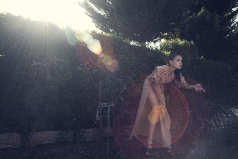 Female model photo shoot of Marisa Mountaki