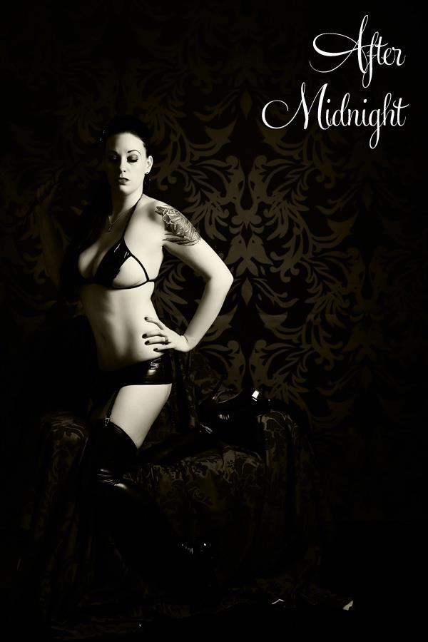 Female model photo shoot of Miss Vega Night
