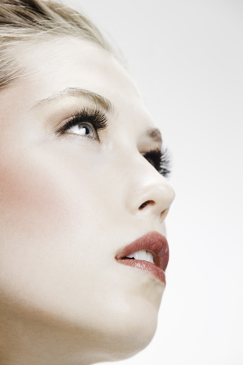 Female model photo shoot of Silvia Noelia  and Rikki Mpls, makeup by Alishia Allshouse