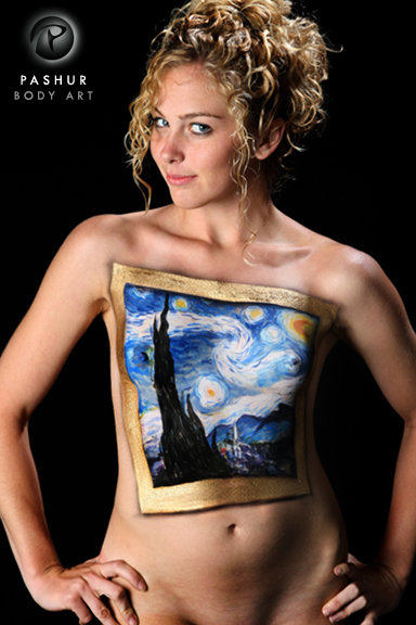 Charlotte, NC Apr 22, 2012 Pashur / Neal Rue Van Gogh - Starry Night